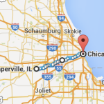 Chicago to Naperville