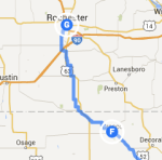 Cresco to Rochester MN